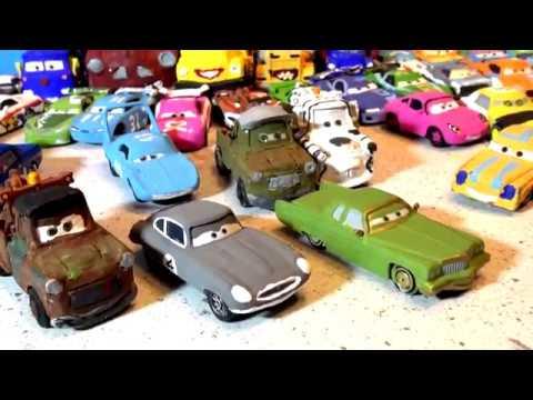 Pixar Cars Custom Video Game Car Gerald Hand Painted
