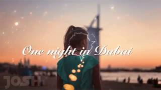 One Night In Dubai [ Lyrics - HD ]  Arash ft. Helena