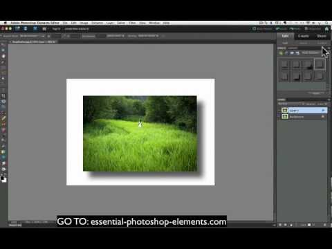 How To Add A Drop Shadow To Your Photos With Photoshop Elements