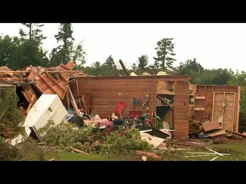 National Weather Service confirms EF-2 tornado hit Port Austin Saturday
