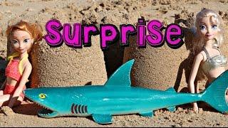 Surprise Toys Beach Princess Anna & Frozen Queen Elsa AllToyCollector Bubble Guppies Peppa Pig Ariel