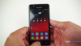Samsung Z4 Hands On Samsung Z4 review 2017