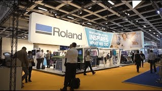 Roland DG at FESPA Global Print Expo 2018 - DAY 1