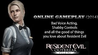 """Resident Evil Outbreak: File #2 Online Multiplayer """"PS2 Classic""""  (2014 Gameplay)"""