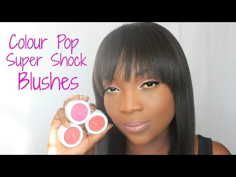 NEW Colourpop Super Shock Blushes and Swatches