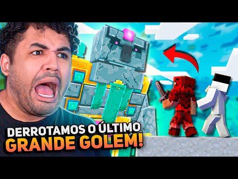 ENFRENTAMOS O ÚLTIMO GOLEM - MINECRAFT S02 #93