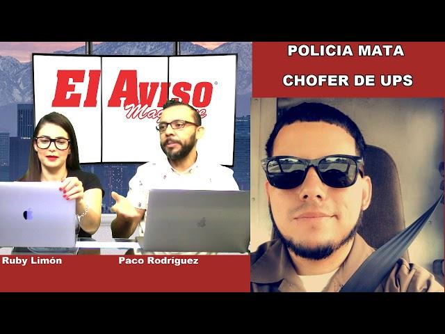 POLICIA MATA A CHOFER DE UPS -  #NOTICREO 45.0 - El Aviso Magazine