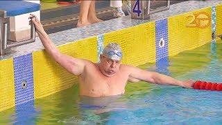 Соревнования по плаванию для взрослых и ветеранов прошли в Уссурийске