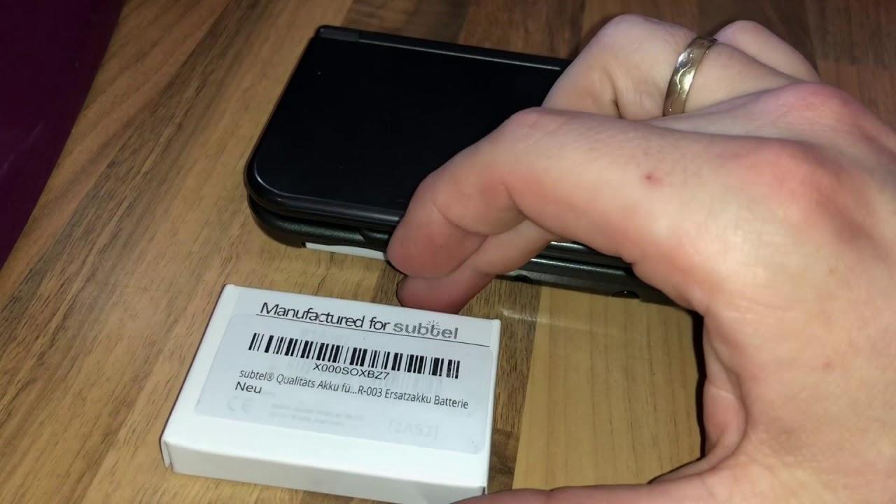 Nintendo 3ds Xl Sd Karte.Nintendo New 3ds Xl Akku Micro Sd Karte Tauschen How To Replace The Battery And Micro Sd Card Diy