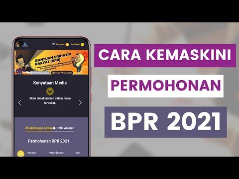 Cara Kemaskini Permohonan Bantuan Prihatin Rakyat BPR 2021