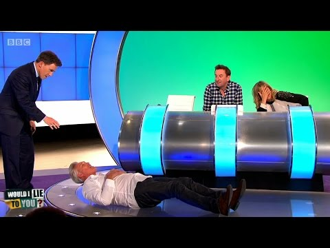 Was Martin Kemp hospitalised after fooling around with a blowup toy?  Would I Lie to You? HDCC