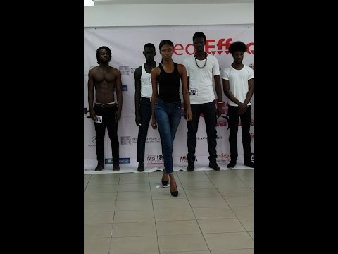 Model casting for The Mercedes Benz African Fashion Festival 2015-Ghana