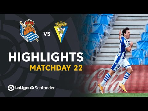 Real Sociedad Cadiz Goals And Highlights