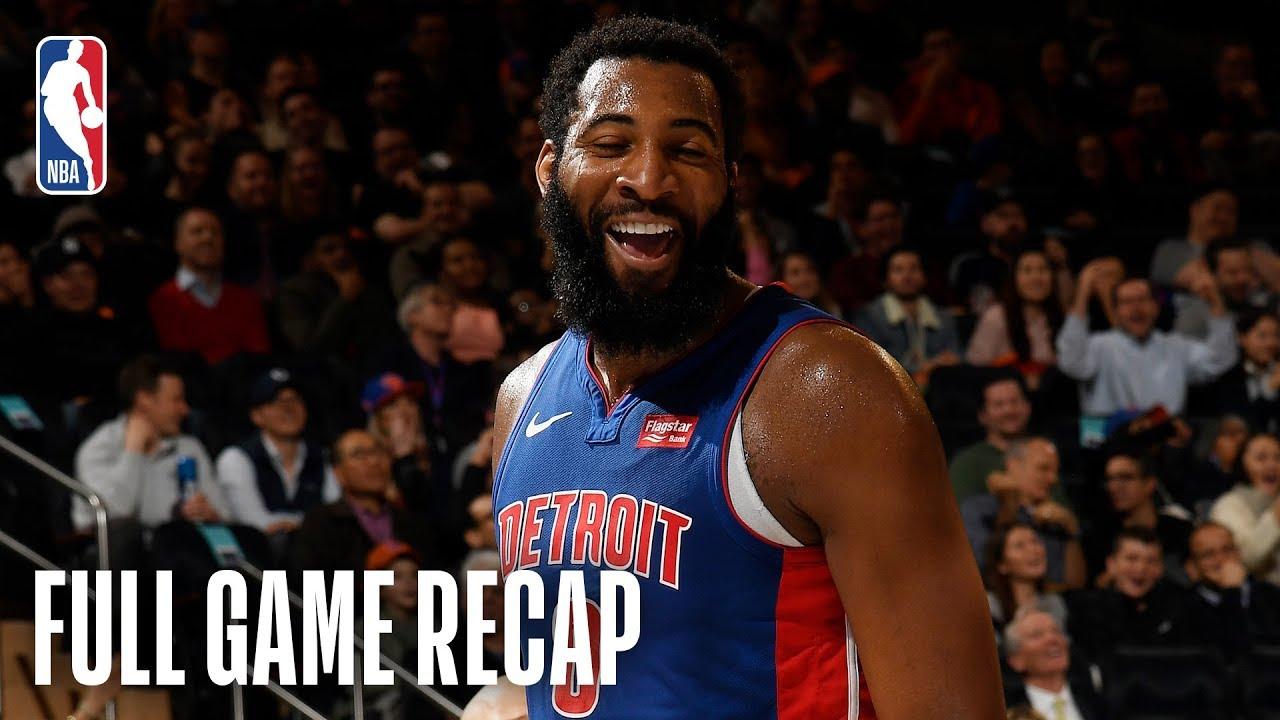 Playoffs! Detroit Pistons back in postseason after win vs. Knicks