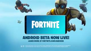 FORTNITE ANDROID Download - OFFICAL TRAILER