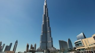 Burj Khalifa tallest man made structure in the world