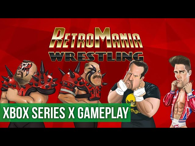 RetroMania Wrestling - Gameplay (Xbox Series X) HD 60FPS