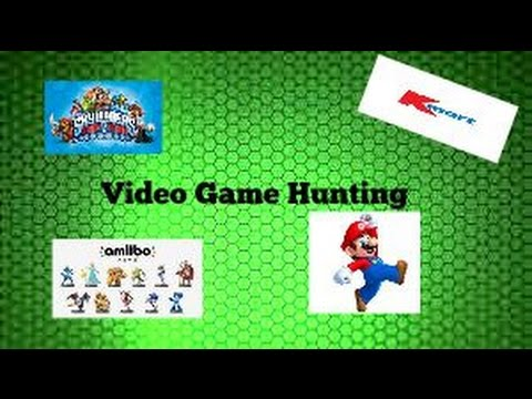 Video game hunting 1 kmart amiibo skylander and disney for Kmart fishing license