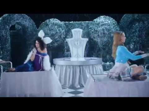 Как снимали фильм Алиса в Зазеркалье.