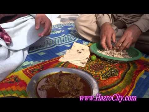 Delicious Katwa Dish & how to prepare Choori in Malak Mala village, Hazro.