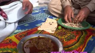 Delicious Katwa Dish & how to prepare Choori in Malak Mala village, Hazro.