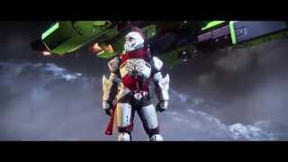 Destiny: The Taken King - The Coming War: Cliffside Phobos Landing Zavala Coms Dialogue Cutscene PS4