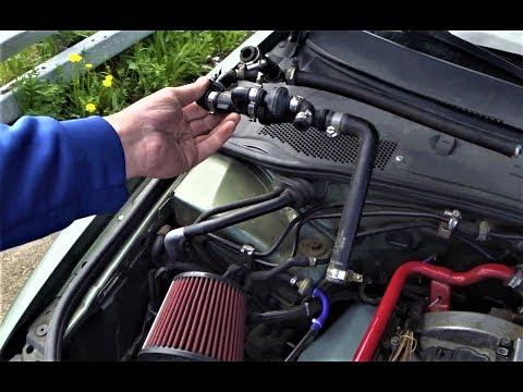 Удаляю блидер и эжекционный насос (тюнинг вкг) VW Passat B5, AUDI, SKODA