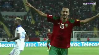 Morocco vs Gabon 3 - 0 World C-Q Russia 2018