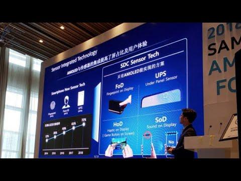 Samsung Galaxy S10 Camera, Fingerprint, Speaker Under Display NO NOTCH, NO BEZELS (Possibly) OMG!!