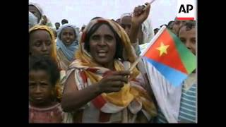 ERITREA/ETHIOPIA: ERITREANS DEPORTED FROM ETHIOPIA WELCOMED HOME