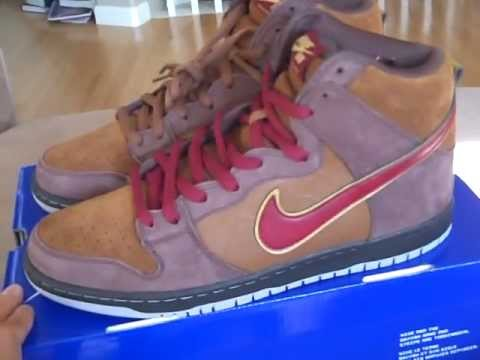 huge discount f50ba eee32 Nike SB Dunk High Pro Premium - Cigar City x Todd Bratrud QS