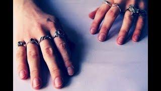 Вот на Какие Пальцы нужно одевать Серебряные и Золотые Кольца! Ведь они влияют на судьбу!