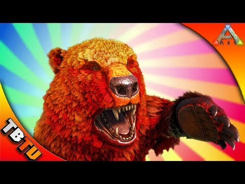 FULLY MUTATED DIRE BEAR DIRE BEAR BREEDING AND MUTATIONS ZOO ENCLOSURE Ark Survival Evolved Zoo