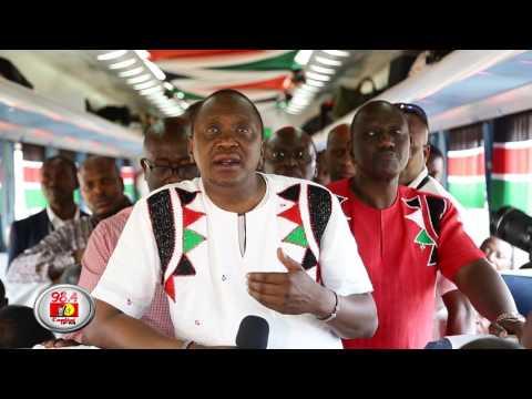 Madaraka Express arrives in Nairobi on maiden SGR passenger trip