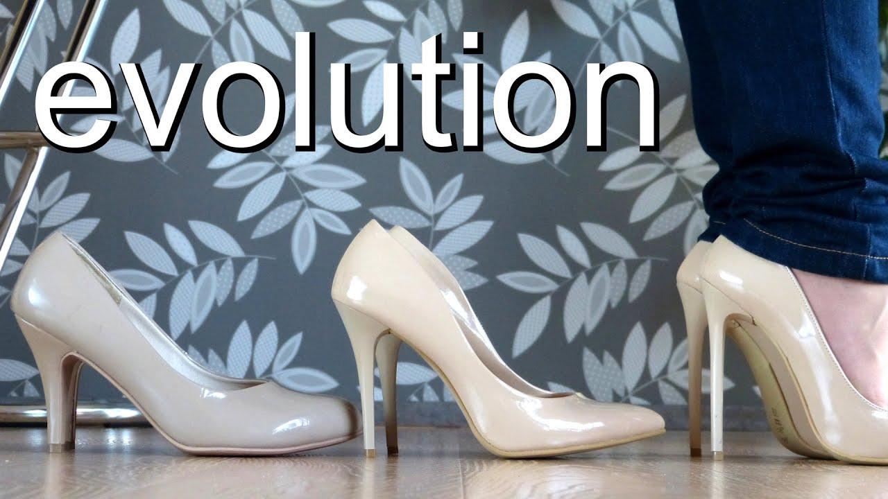 the evolution of high heels essay I only wear high heels sure, i put on sneakers when i hit the gym, and i have a lone pair of jelly sandals i reserve for trips to the beach or a pool but in.