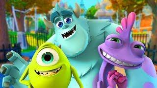 SUSTOS NA UNIVERSIDADE MONSTRO (Disney Infinity)
