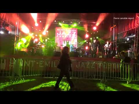 RIX Funk soul and pop Saint Emilion Jazz festival 2017