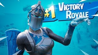 FORTNITE NEW SKIN OF THE RIDER RUBRA FROZEN-WE WON THE MATCH ZUANDO KKK!