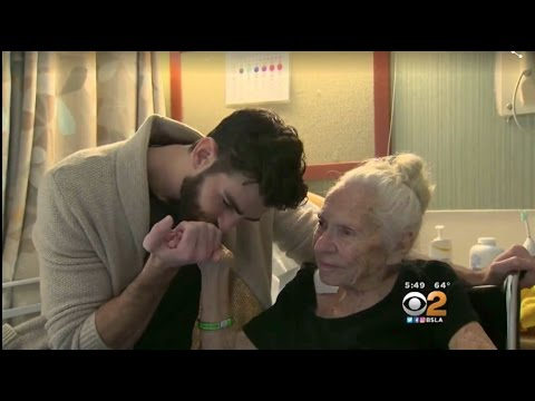 Norma Cook and Chris Salvatore - Unlikely Friends (CBS 2 Los Angeles News)