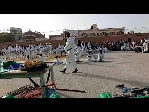 Karate kids in Nouakchott Mauritania