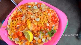 Samosa Chaat | Famous Street Food In India