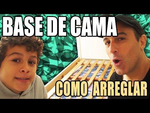 #100 Base De Cama - Como Arreglar (Muy Fácil)