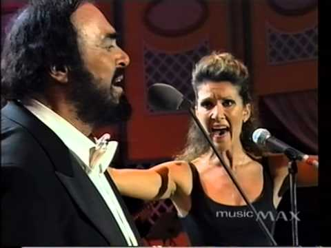 Luciano Pavarotti & Celine Dion  I Hate You Then I Love You