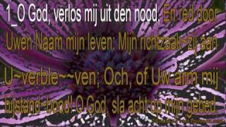 psalm 54 niet ritmisch -Karaoke - O God, verlos mij uit de nood