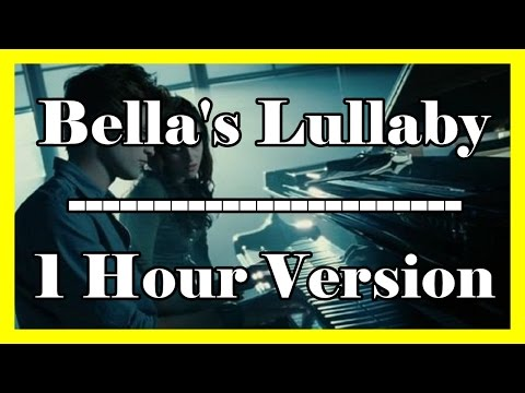 Bella's Lullaby (1 hour loop / 1 hour extension) Twilight OFFICIAL Piano Version