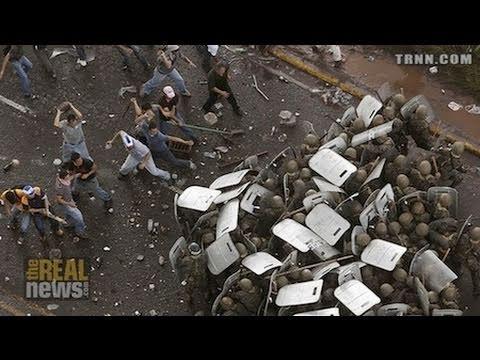 Brutal Repression in Honduras Targets Teachers, Popular Resistance