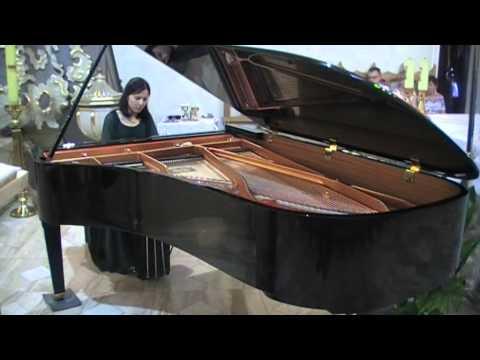 Miyako Arishima gra Preludia op.28 Fryderyka Chopina-koncert w Izbicy Kujawskiej
