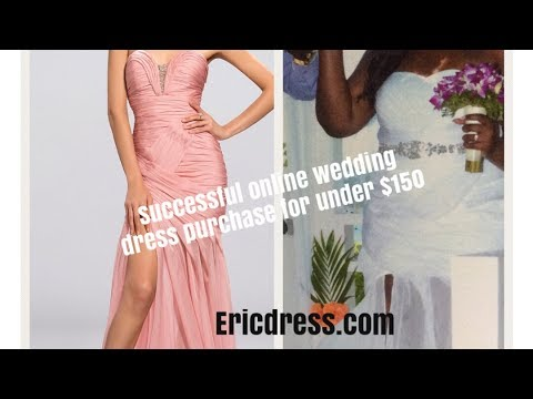 245abac31f Ericdress.com Review  My wedding dress was under  150   purchased online  from China based site!