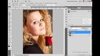 Эффект рассеянного свечения - Photoshop Tutorial от Евгения Карташова