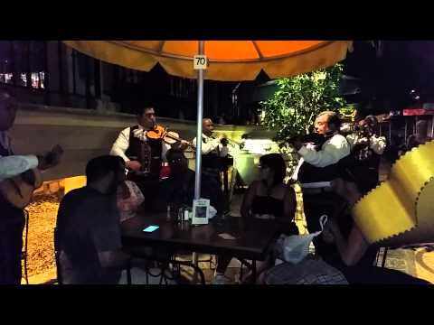 Mariachis at River walk in San Antonio